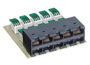 Connection Module 10 Port For Voice Panel(کدکالاR35116)