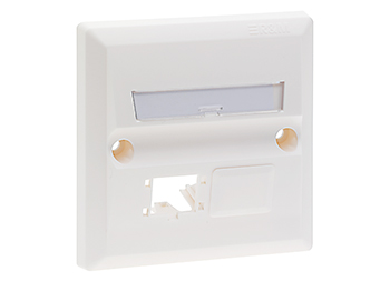 B.S Face Plate 2Port (86*86)MM