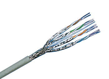 Inst. Cable Cat.6A , SFTP 4P Drum 500m