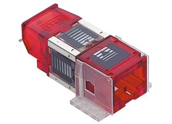 Connection Module,Cat.6A, ISO RJ45/UTP
