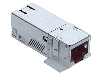 Connection Module,Cat.6A, ISO RJ45/SFTP