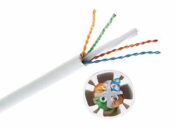 Inst. Cable Cat.6A , U/UTP 4P , PVC Drum 305m