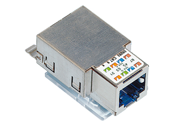 Connection Module, Cat.6,RJ45/SFTP